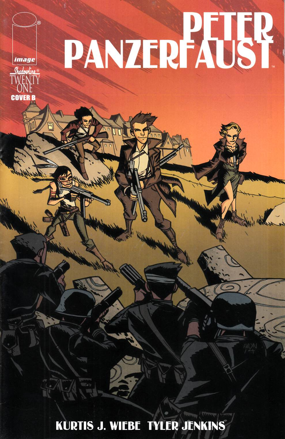 Peter Panzerfaust #21 Cover B- Oeming [Comic] THUMBNAIL