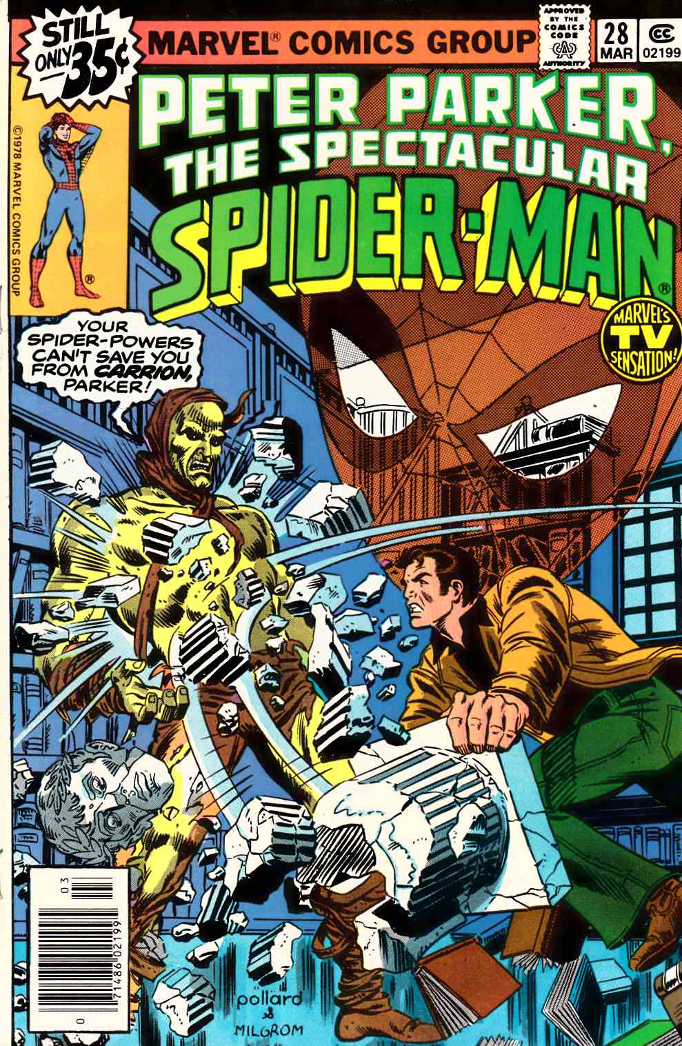 Peter Parker Spectacular Spider-Man #28 Very Fine (8.0) [Marvel Comic] THUMBNAIL
