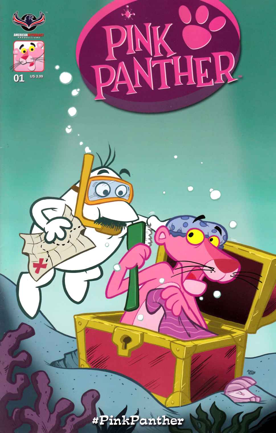 Pink Panther #1 Classic Pink Cover [American Mythology Comic]_LARGE