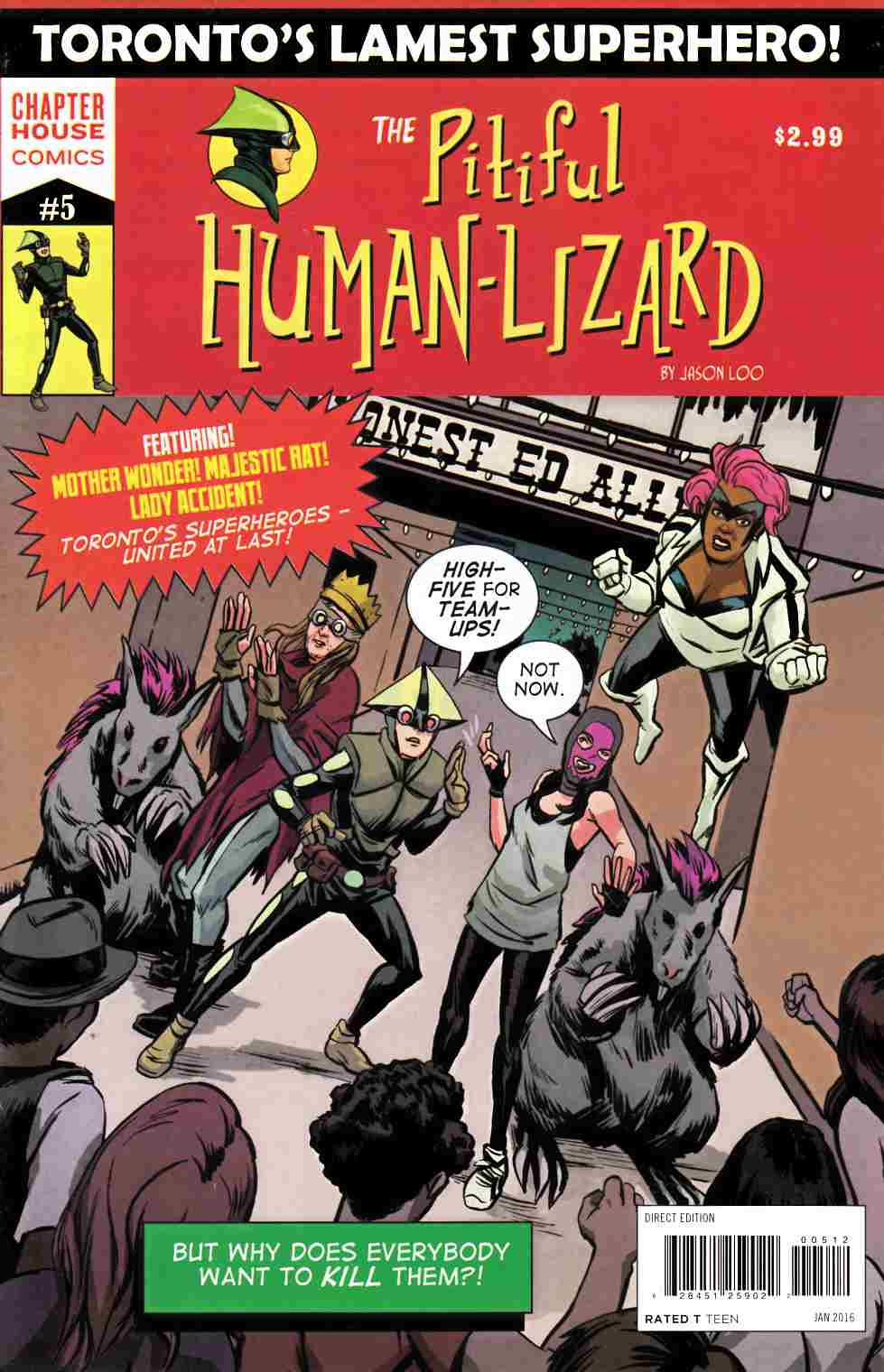 Pitiful Human Lizard #5 [Chapterhouse Comic] LARGE