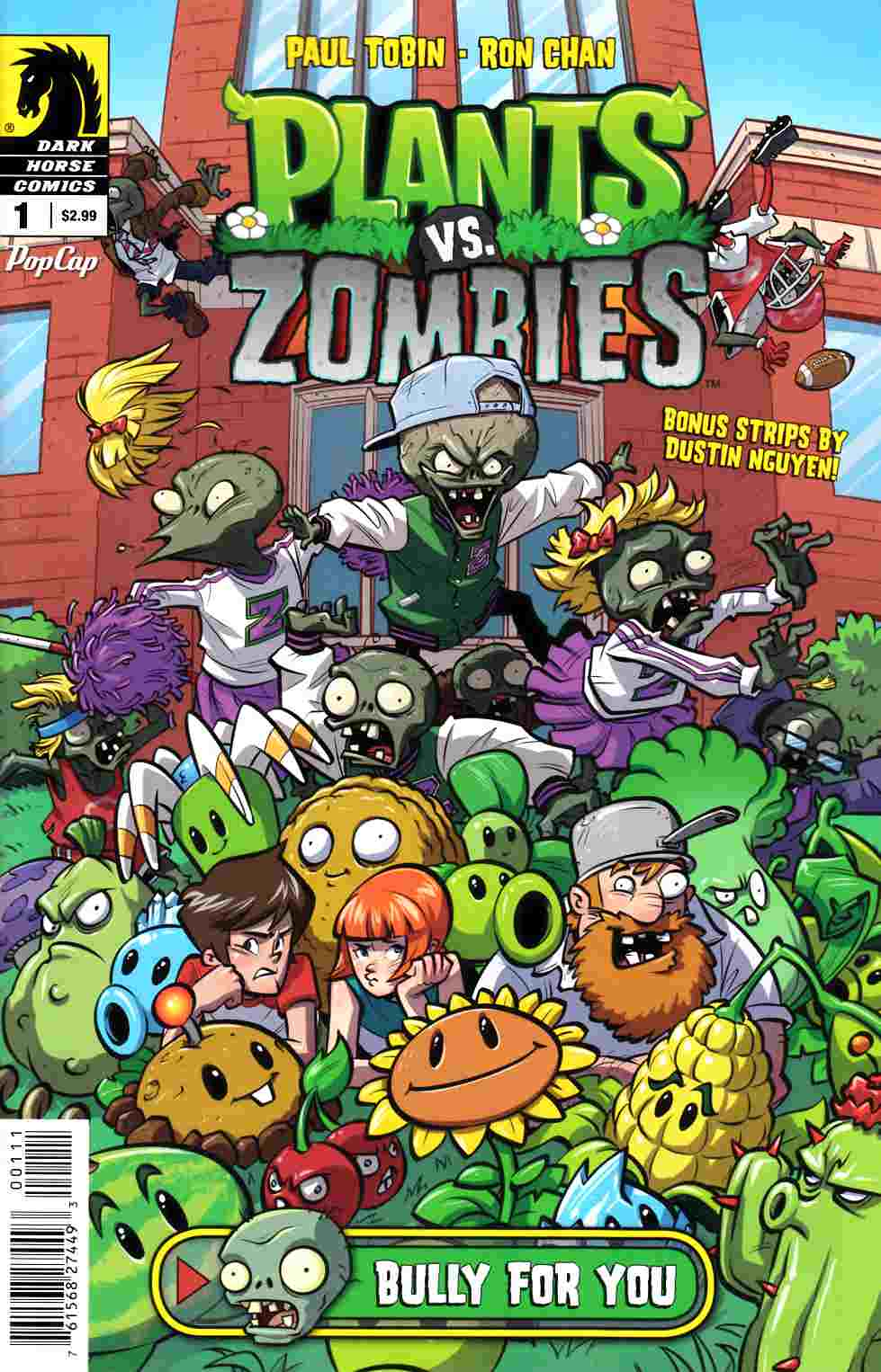 Plants vs Zombies #1 [Dark Horse Comic] THUMBNAIL
