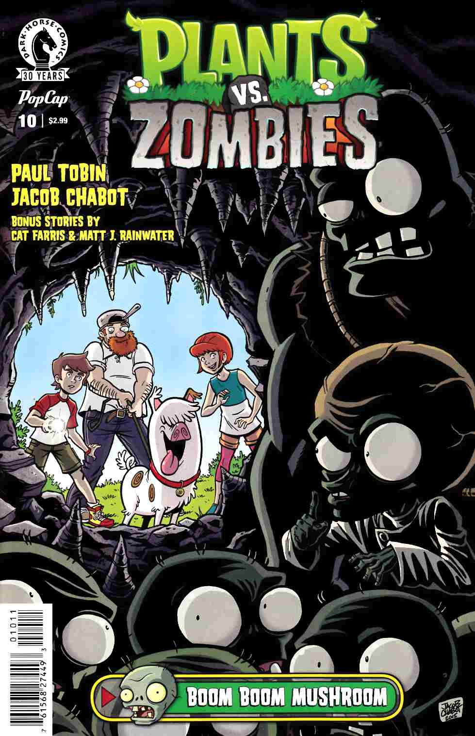 Plants vs Zombies Ongoing #10 [Dark Horse Comic] THUMBNAIL