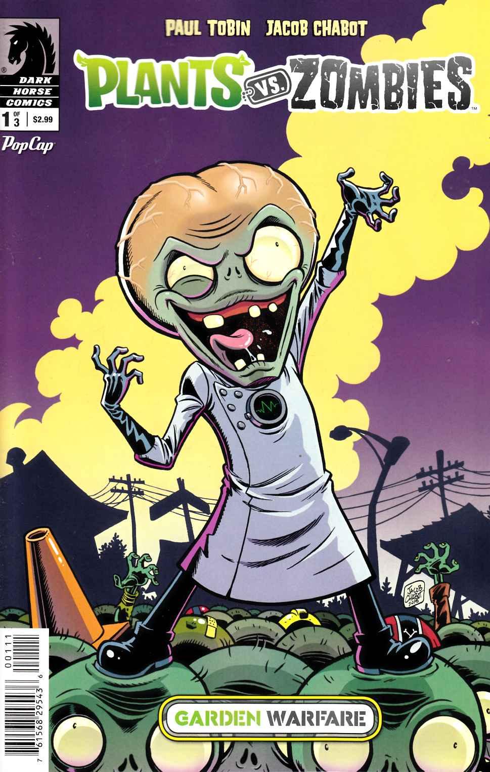 Plants Vs Zombies Garden Warfare #1 [Dark Horse Comic] View Enlarged Image