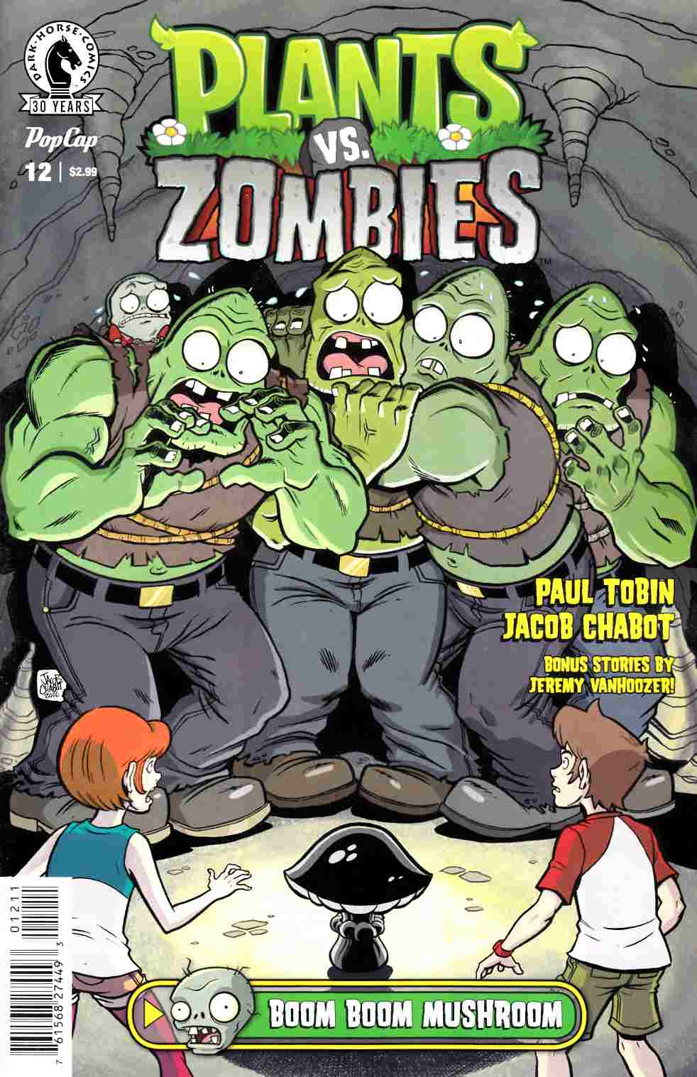 Plants vs Zombies Ongoing #12 [Dark Horse Comic] THUMBNAIL