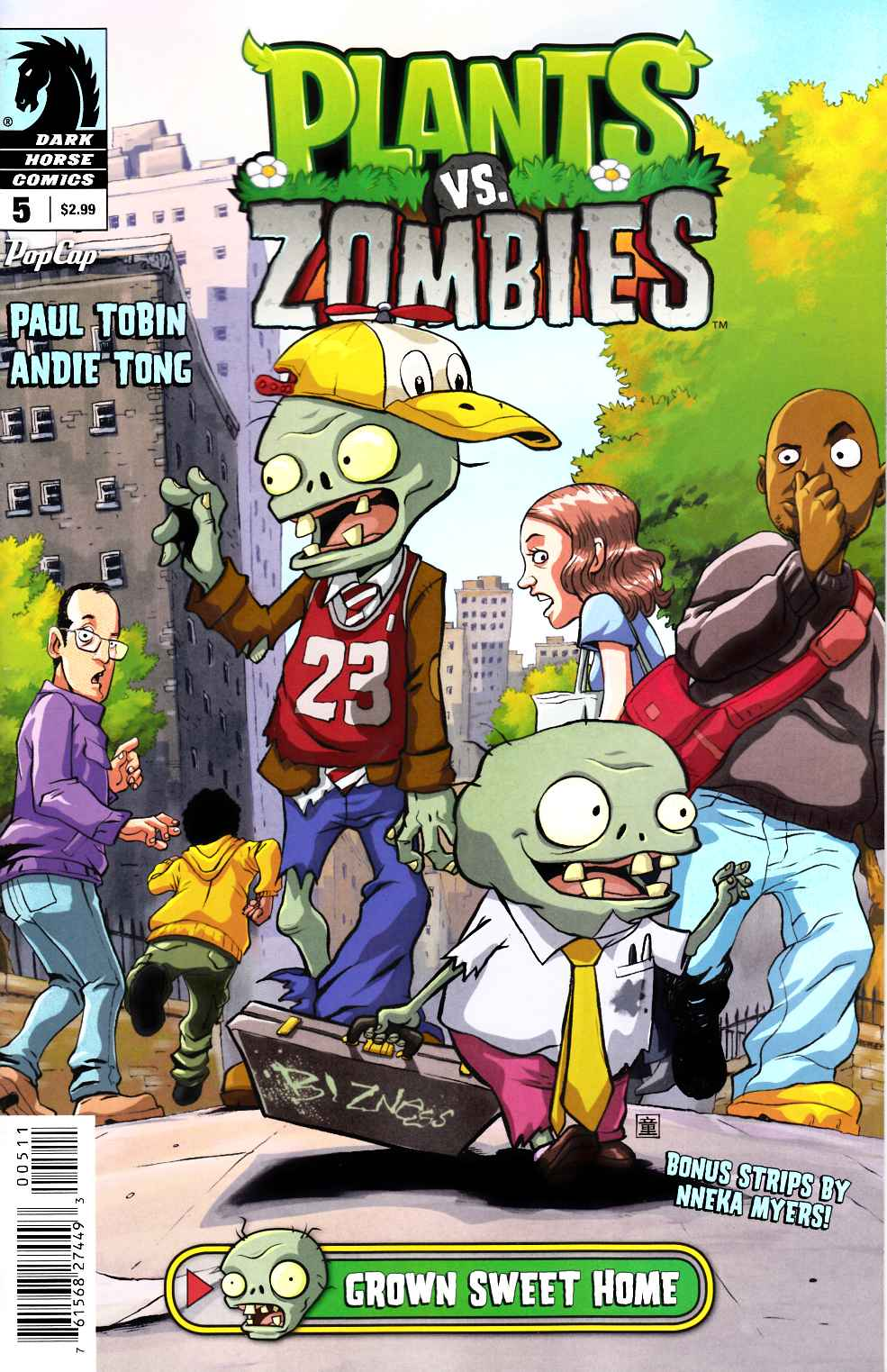 Plants Vs Zombies #5 Grown Sweet Home [Dark Horse Comic] THUMBNAIL