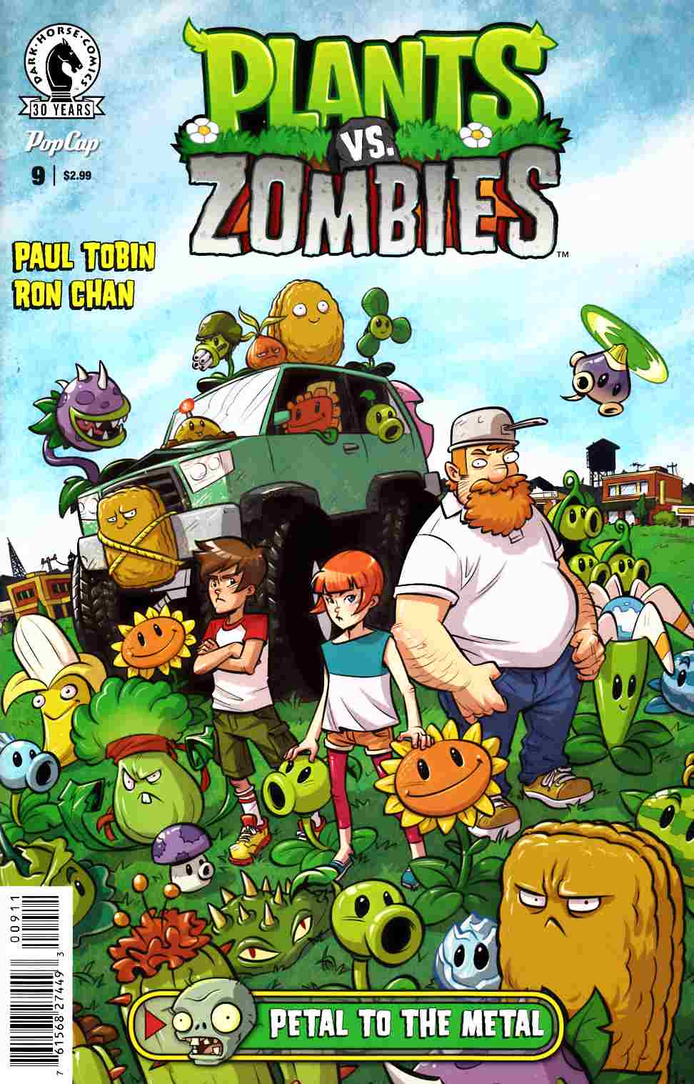 Plants vs Zombies Ongoing #9 [Dark Horse Comic] THUMBNAIL