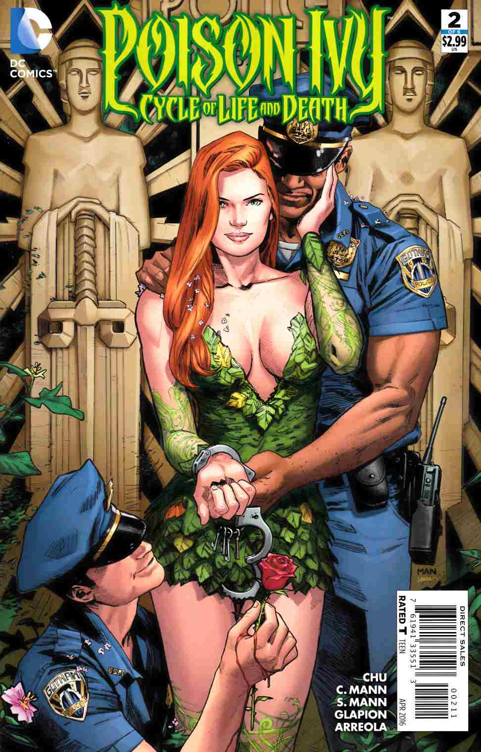 Poison Ivy Cycle of Life and Death #2 [DC Comic] LARGE