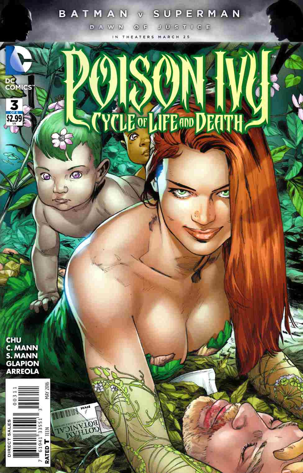 Poison Ivy Cycle of Life and Death #3 [DC Comic] LARGE