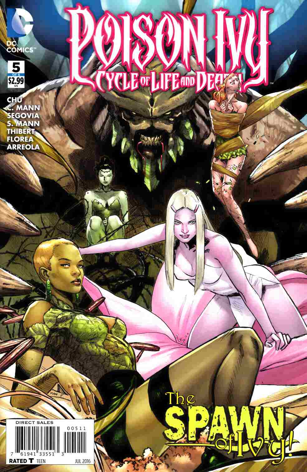 Poison Ivy Cycle of Life and Death #5 [DC Comic] LARGE