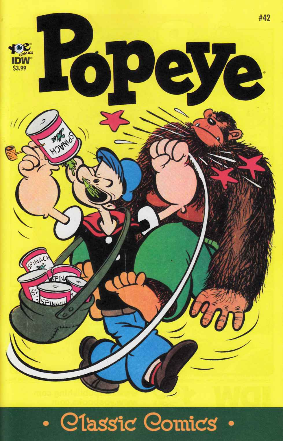 Popeye Classics Ongoing #42 [IDW Comic] LARGE