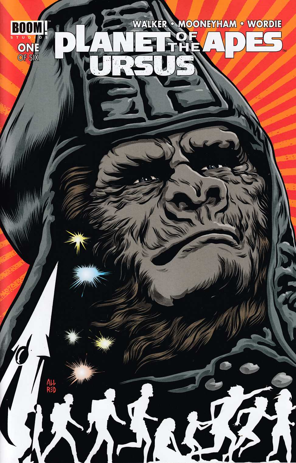 Planet of the Apes Ursus #1 Allred Variant Cover [Boom Comic] THUMBNAIL