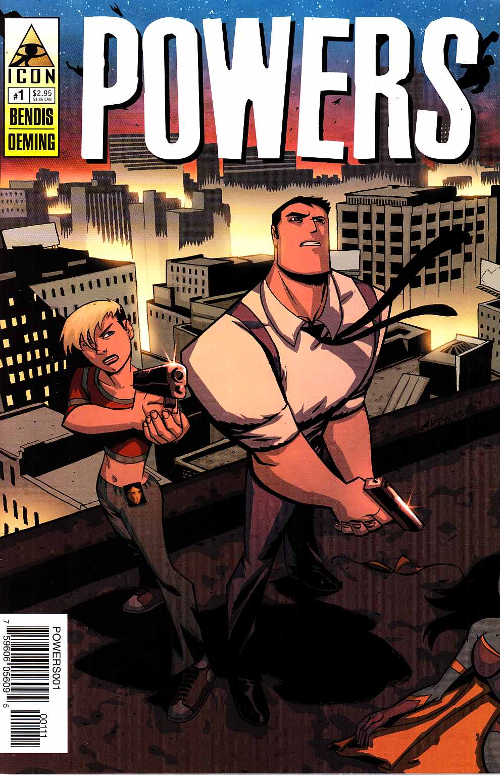 Powers #1 [Marvel Comic] THUMBNAIL