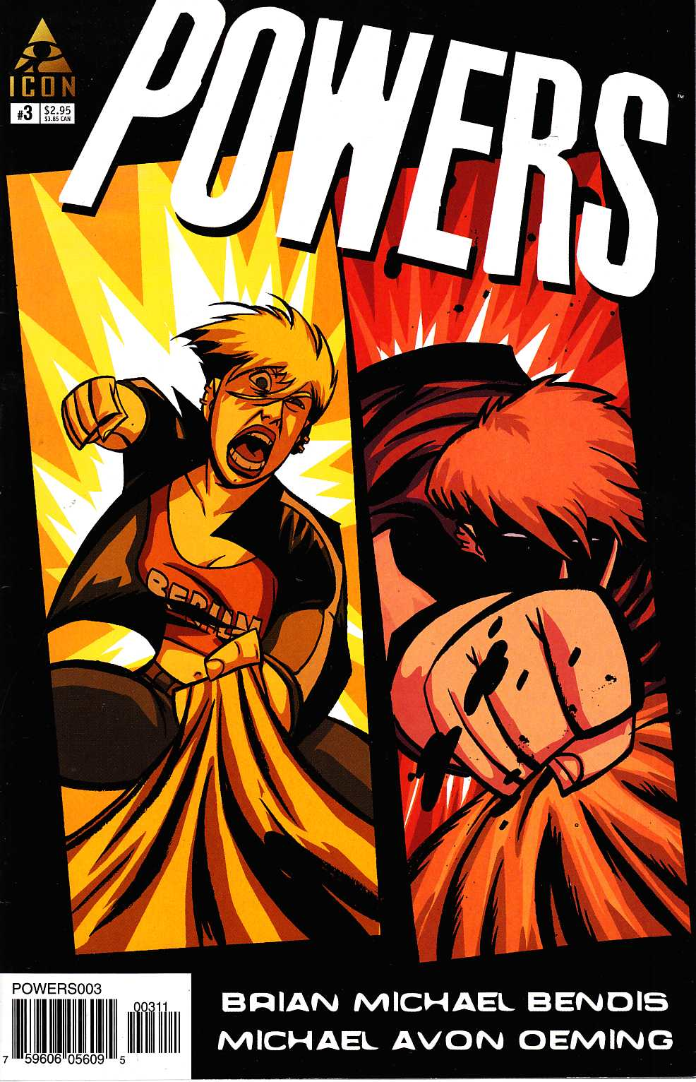 Powers #3 [Marvel Comic] THUMBNAIL