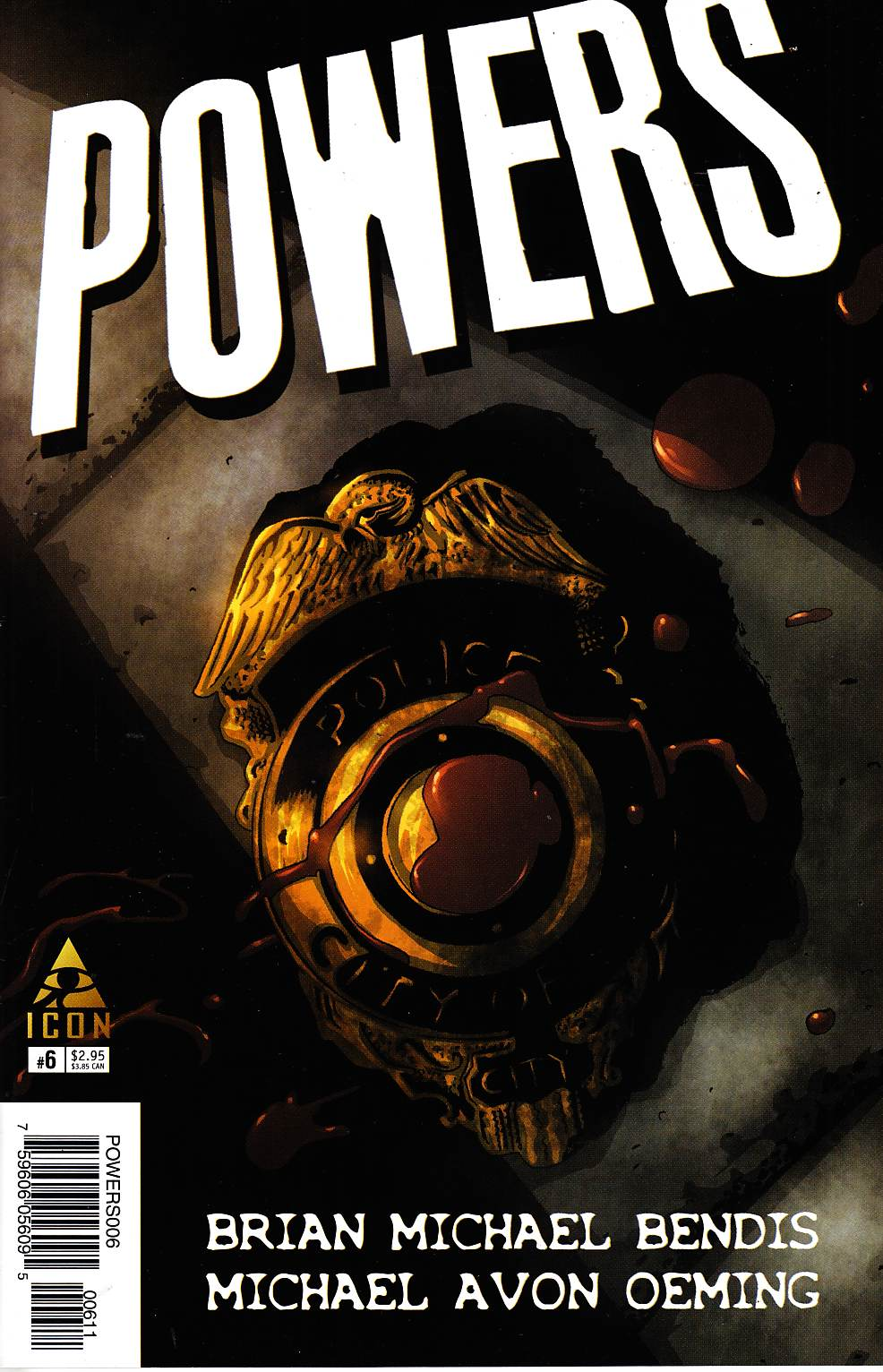 Powers #6 [Marvel Comic] THUMBNAIL