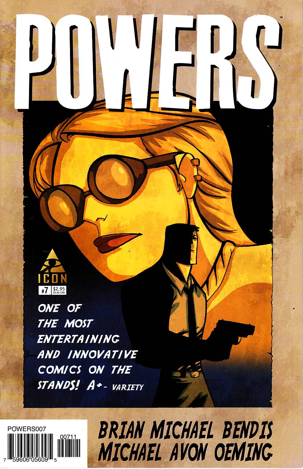 Powers #7 [Marvel Comic] THUMBNAIL