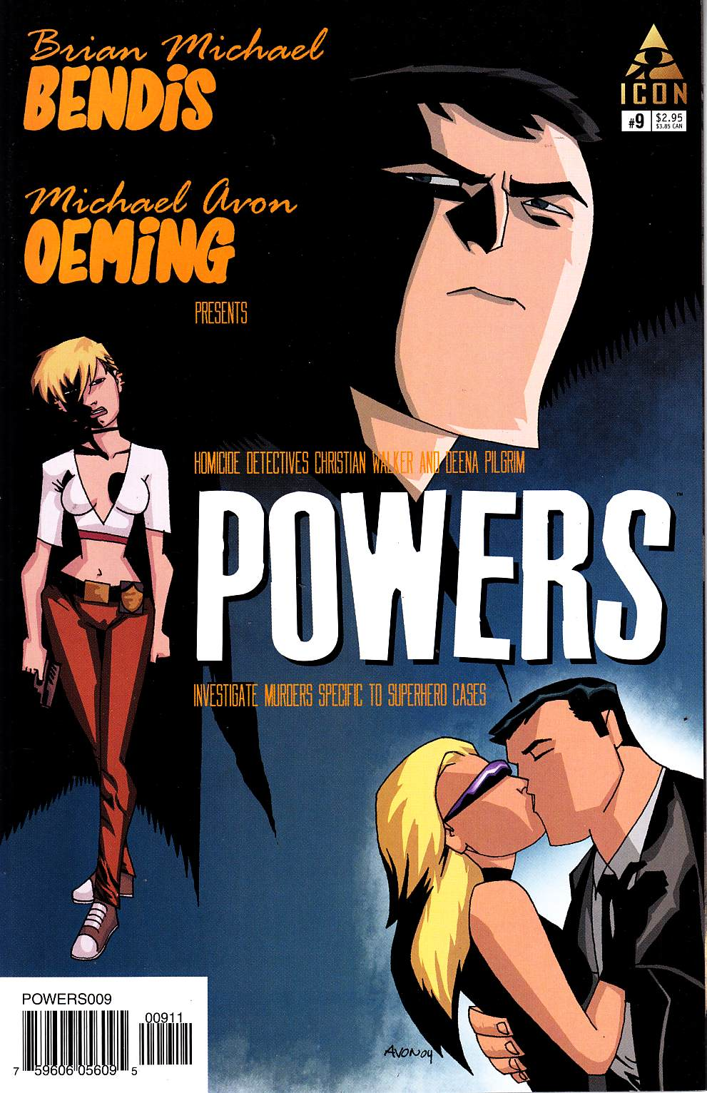 Powers #9 [Marvel Comic] THUMBNAIL