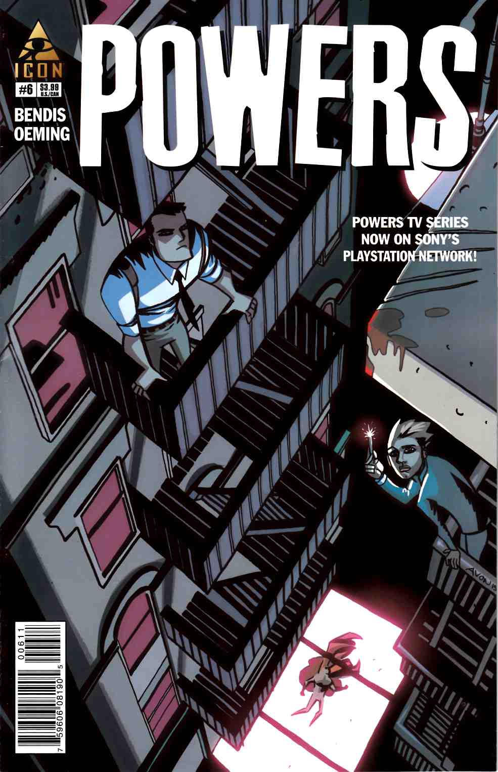Powers #6 [Marvel Comic] LARGE