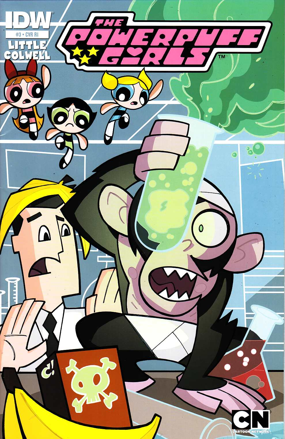 Powerpuff Girls #3 Cover RI [IDW Comic] THUMBNAIL