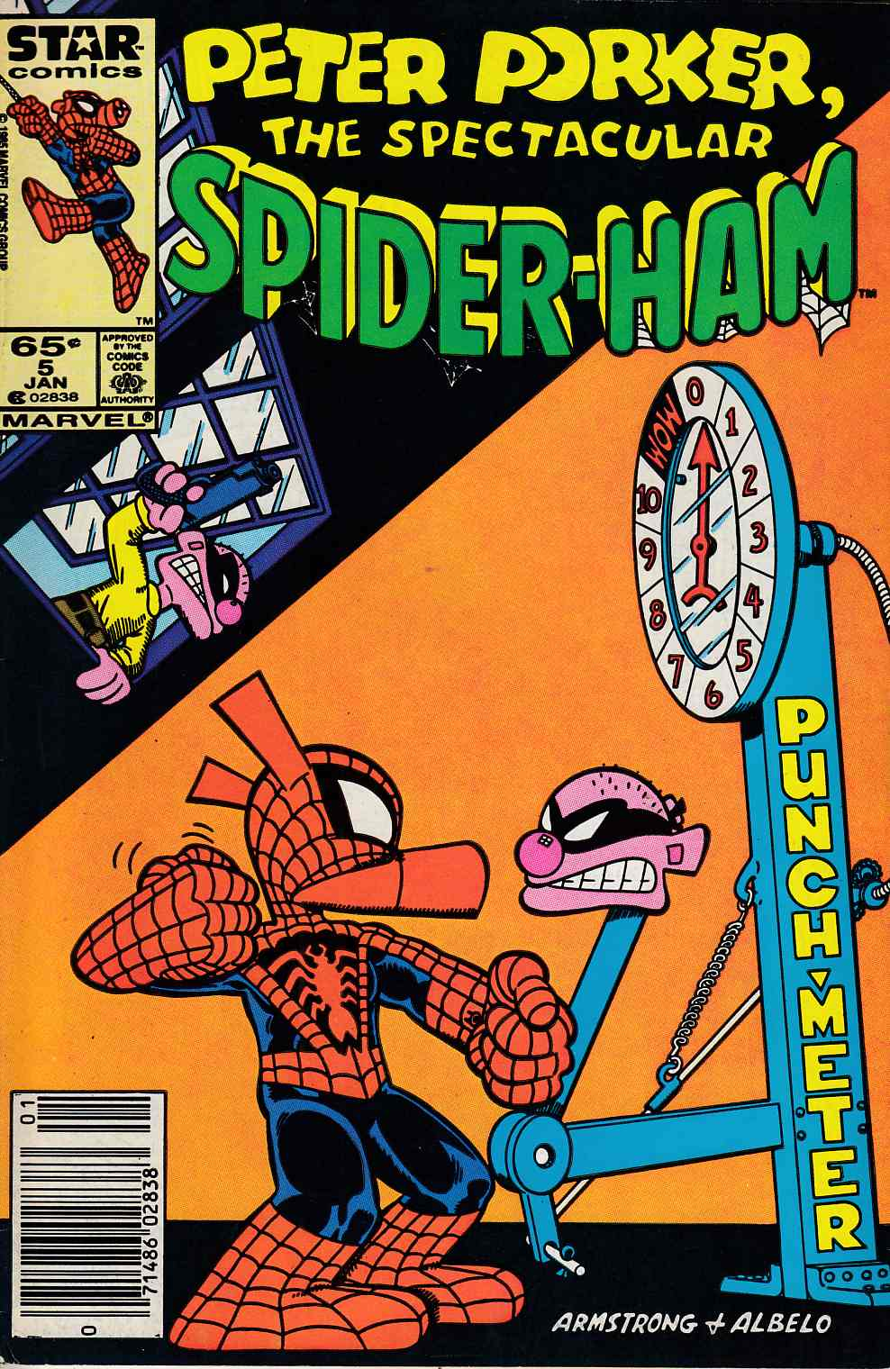 Peter Porker Spectacular Spider-Ham #5 Very Fine (8.0) [Marvel Comic] THUMBNAIL