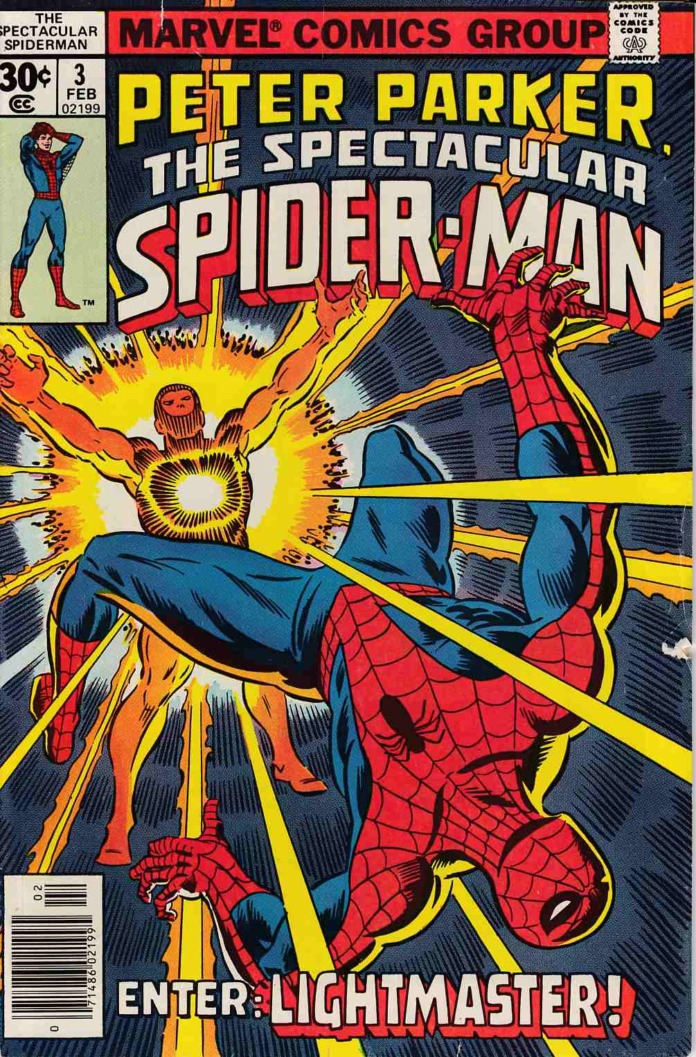 Peter Parker Spectacular Spider-Man #3 Fine (6.0) [Marvel Comic] THUMBNAIL