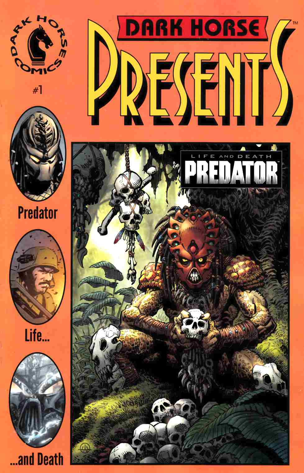 Predator Life and Death #1 Dark Horse 30th Anniversary Warner Cover [Dark Horse Comic] LARGE
