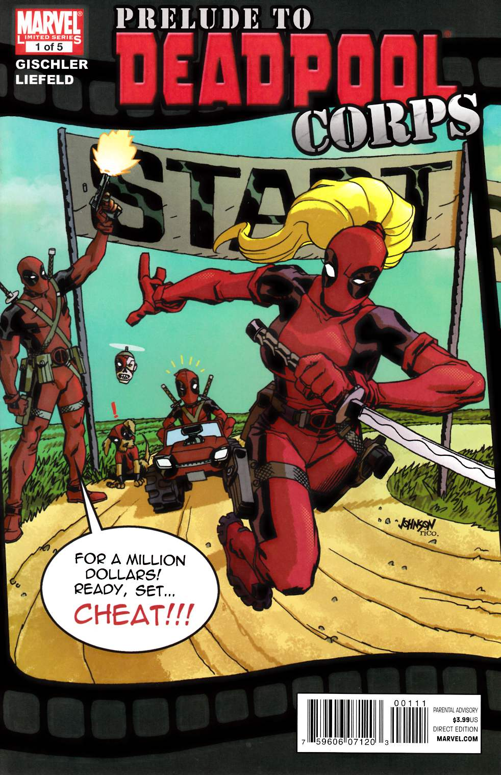 Prelude to Deadpool Corps #1 Very Fine (8.0) [Marvel Comic] THUMBNAIL