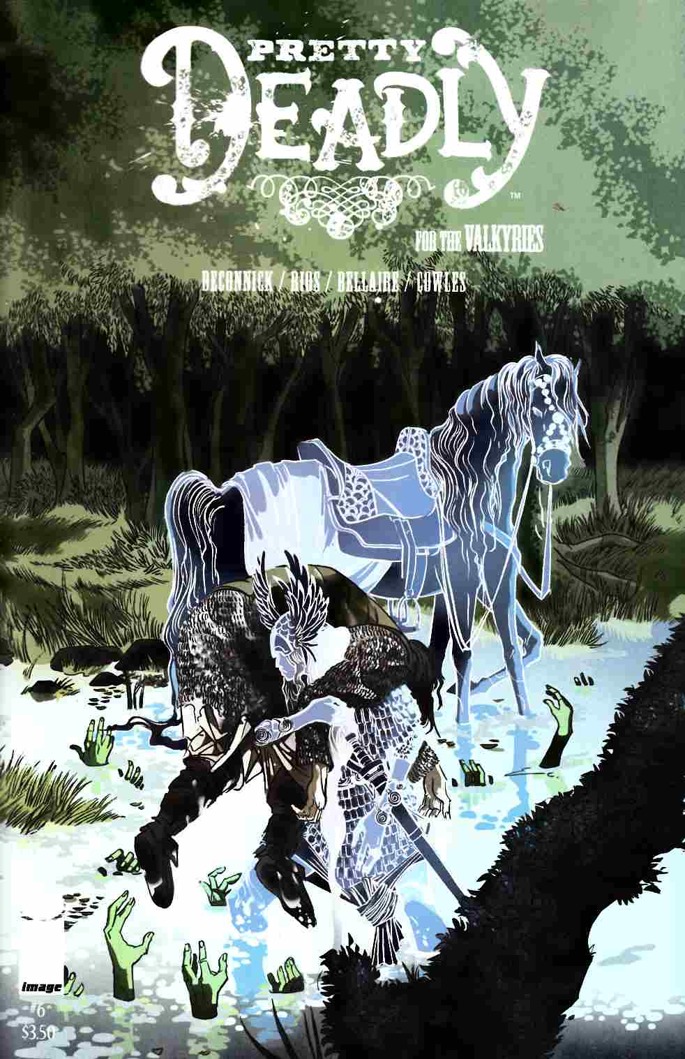 Pretty Deadly #6 Cover B- Valkyrie Shop Variant Cover [Image Comic] THUMBNAIL