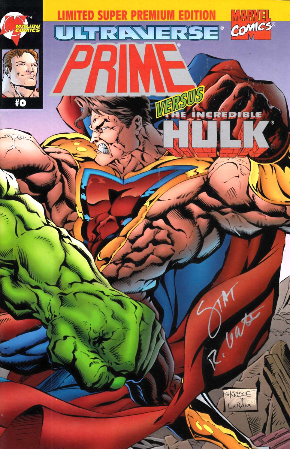 Prime vs Hulk (One Shot) Near Mint (9.4) [Marvel Comic] LARGE