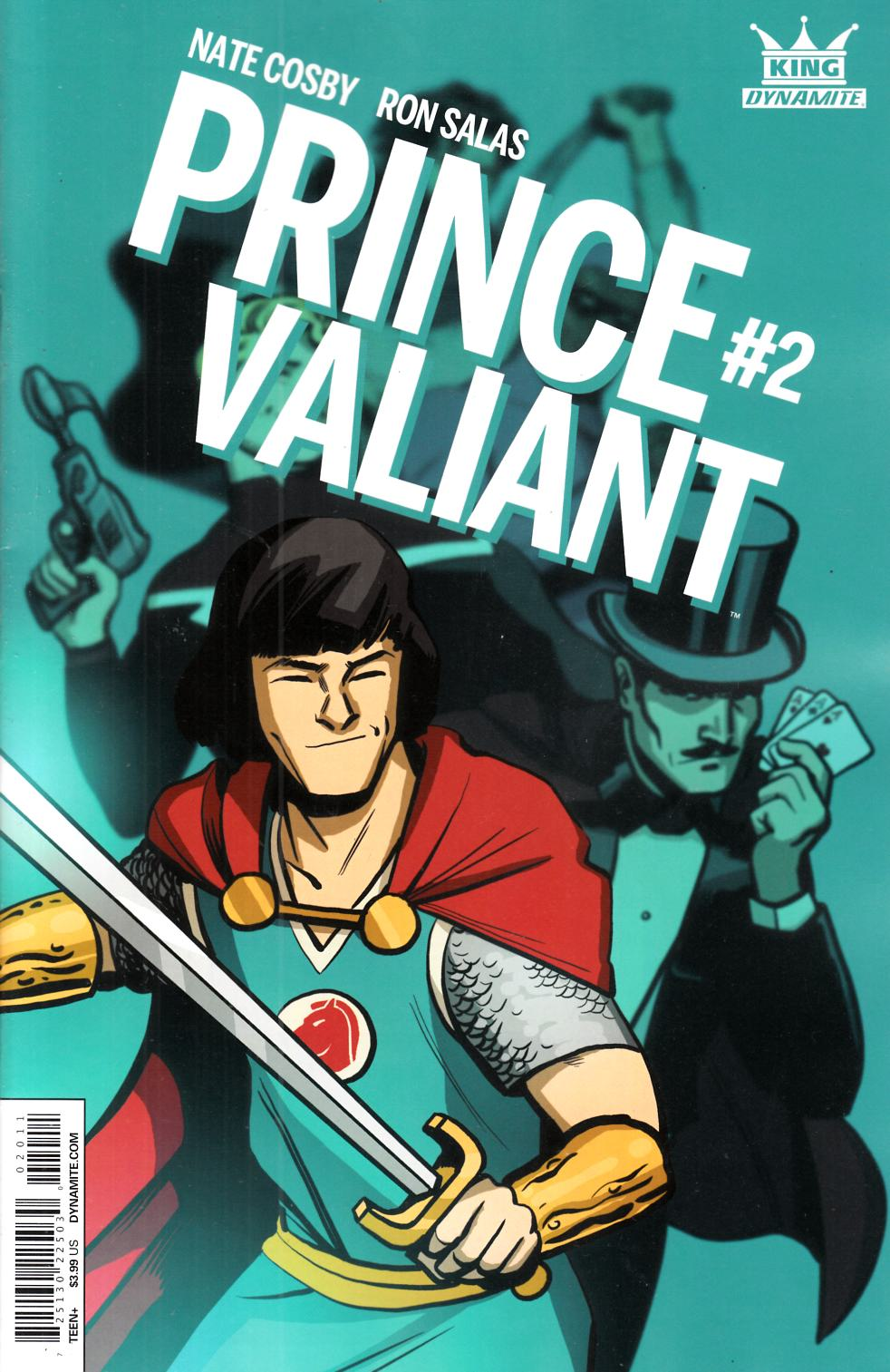King Prince Valiant #2 [Dynamite Comic]