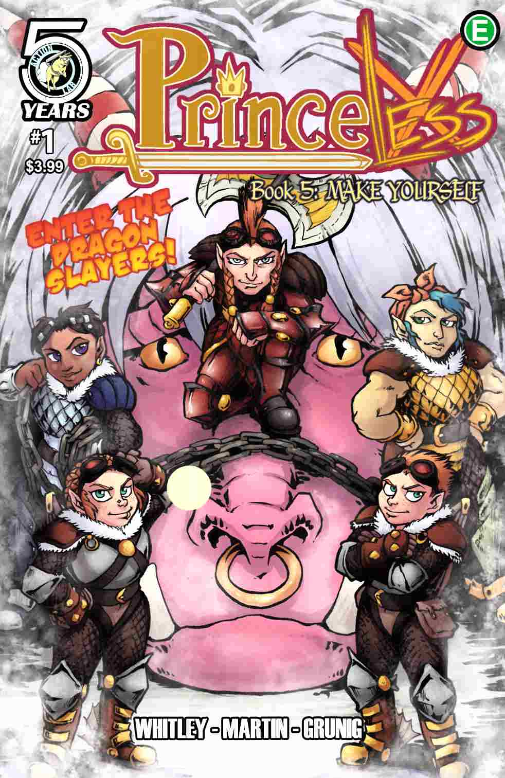 Princeless Make Yourself #1 Cover A [Action Lab Comic] LARGE
