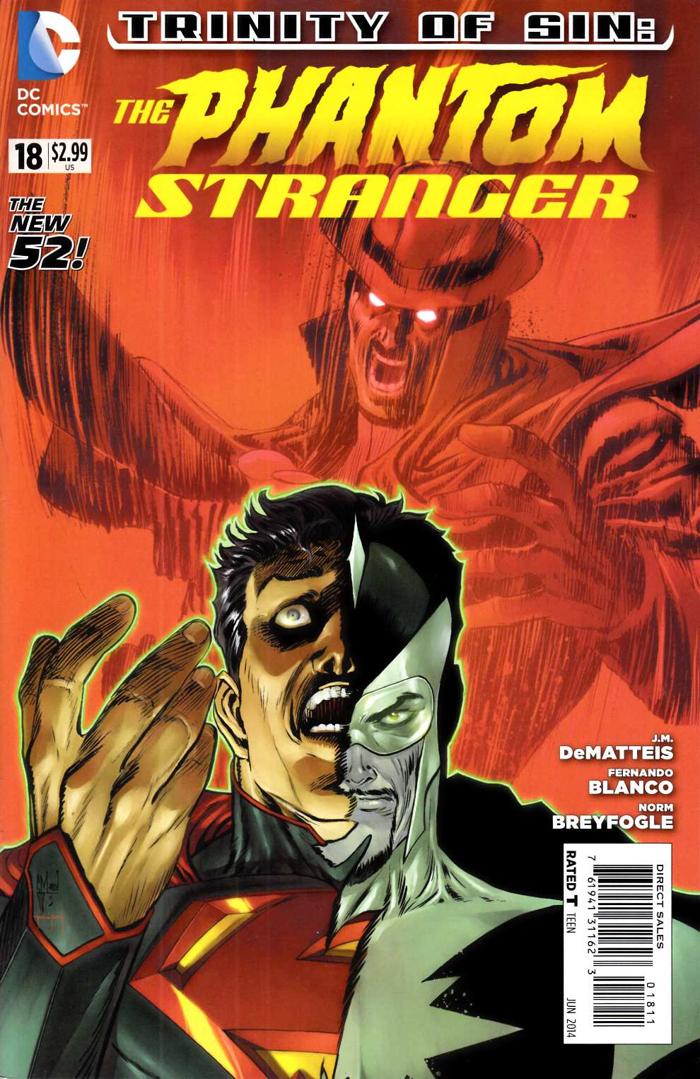Phantom Stranger #18 Near Mint (9.4) [DC Comic] LARGE