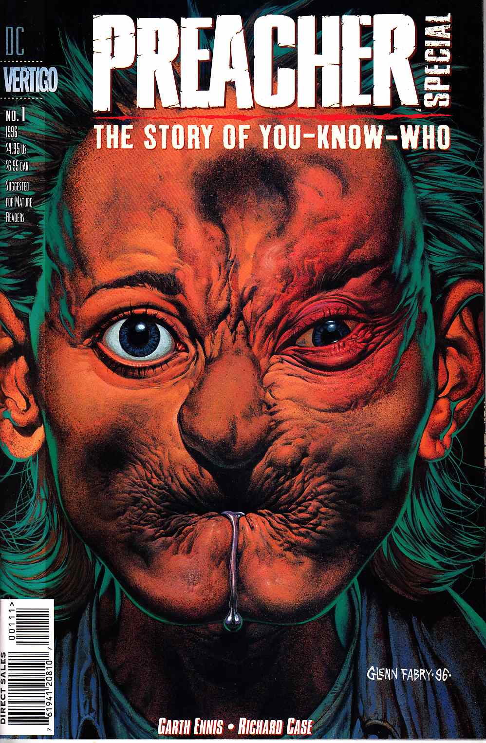 Preacher Special The Story of You Know Who #1 [DC Comic] LARGE