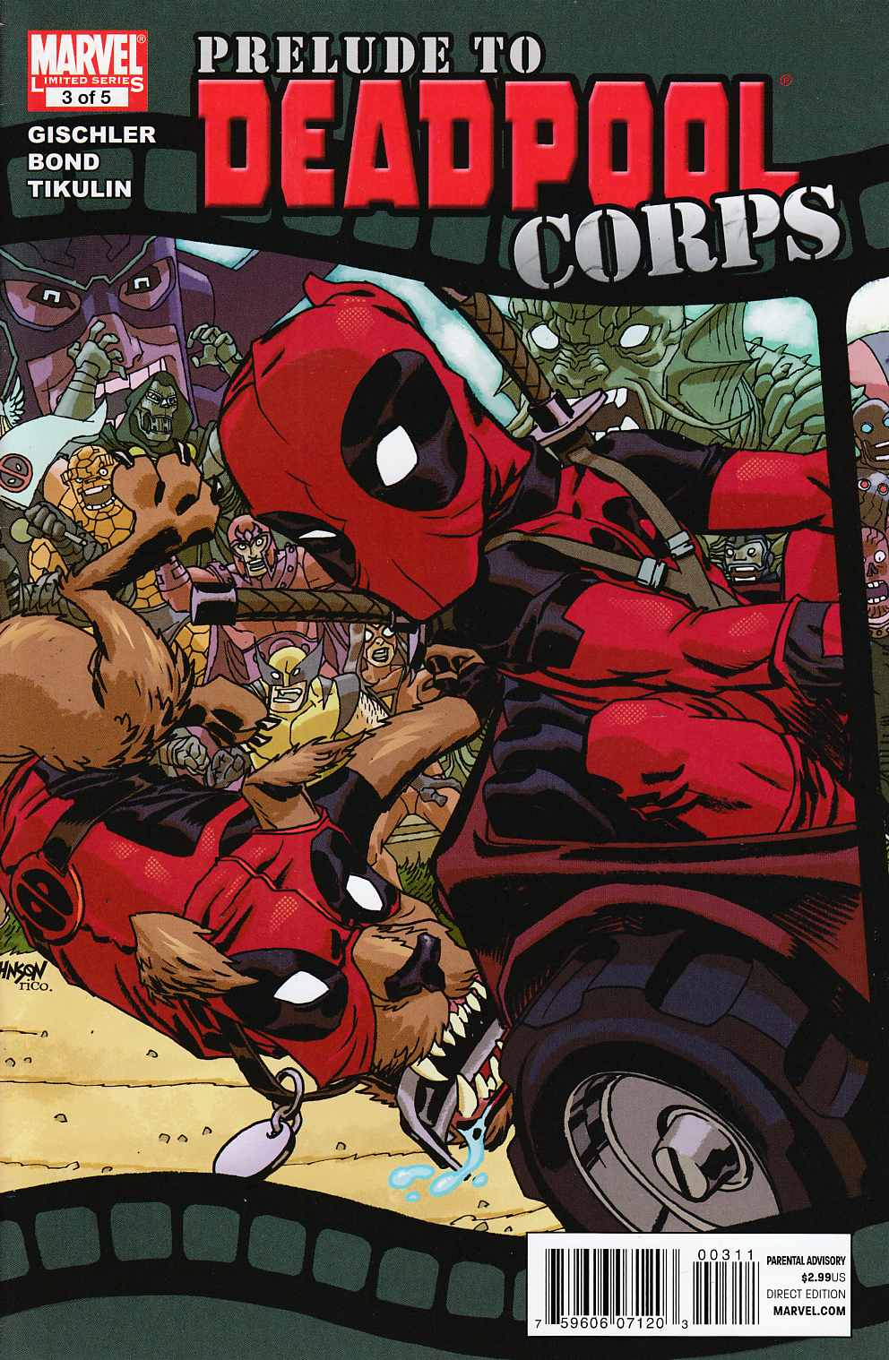 Prelude to Deadpool Corps #3 Very Fine (8.0) [Marvel Comic] THUMBNAIL