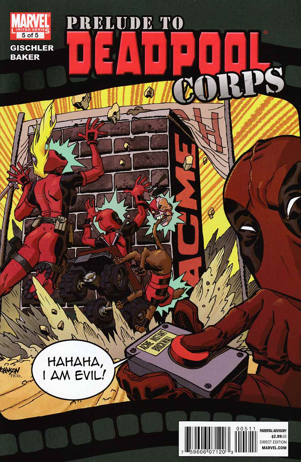 Prelude to Deadpool Corps #5 Very Fine (8.0) [Near Mint] THUMBNAIL