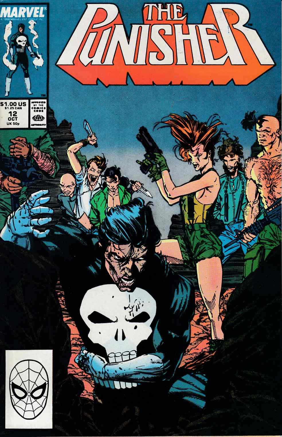 Punisher #12 Very Fine (8.0) [Marvel Comic] THUMBNAIL