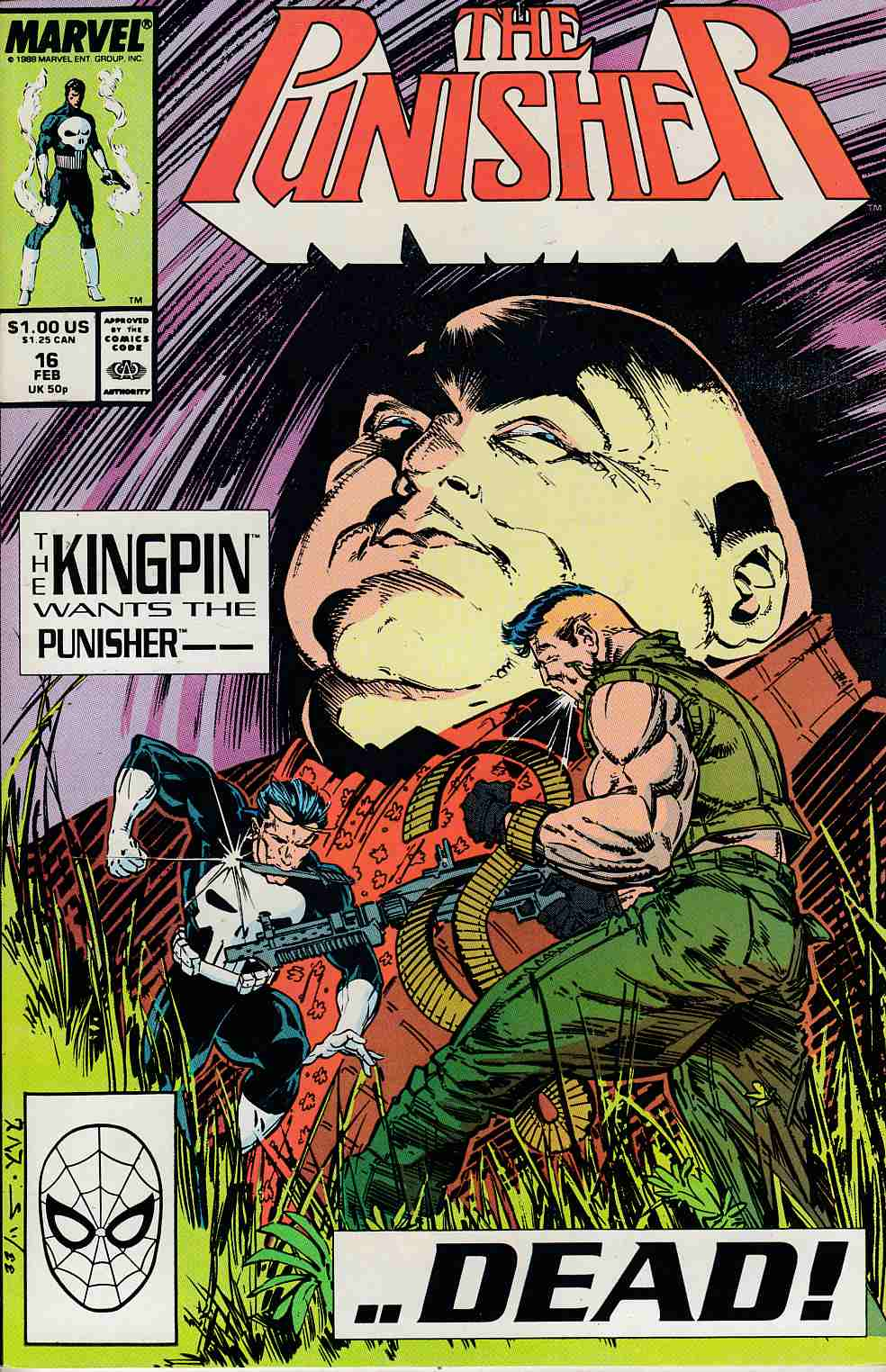 Punisher #16 Near Mint (9.4) [Marvel Comic] THUMBNAIL