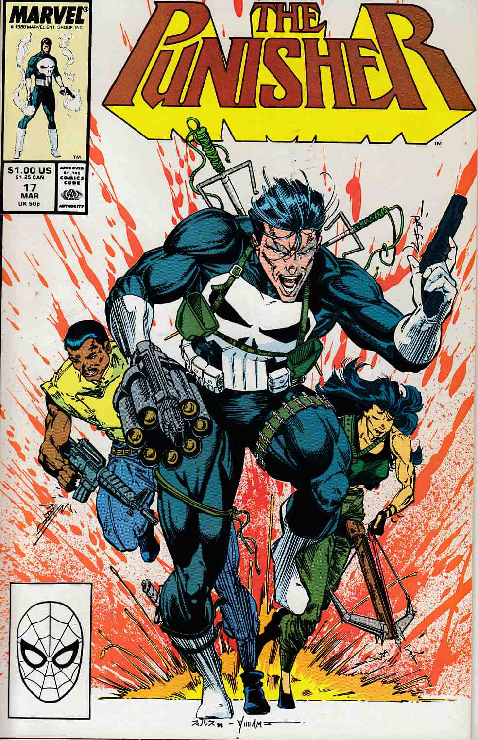 Punisher #17 Near Mint (9.4) [Marvel Comic] THUMBNAIL