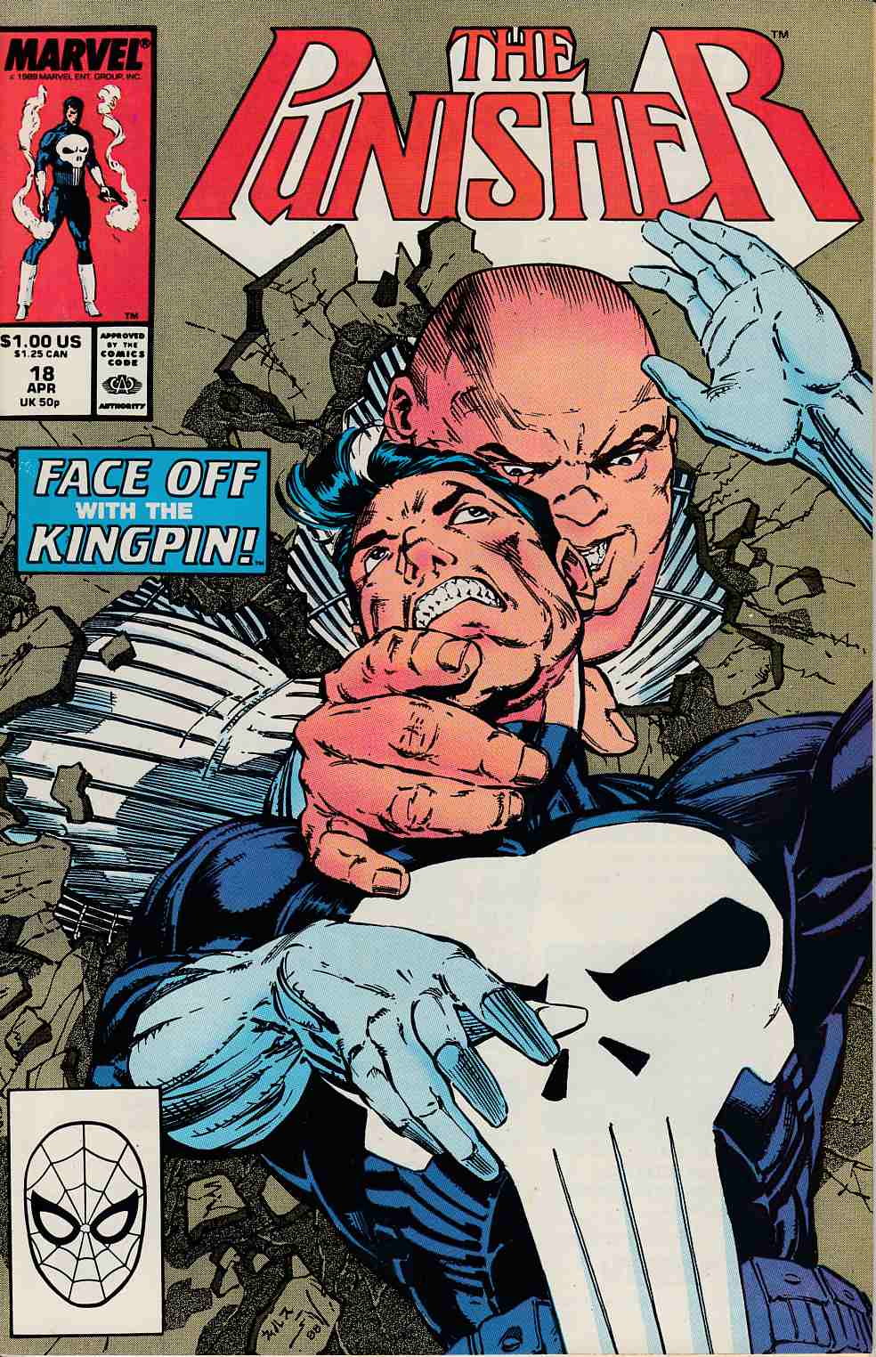 Punisher #18 Near Mint (9.4) [Marvel Comic] THUMBNAIL