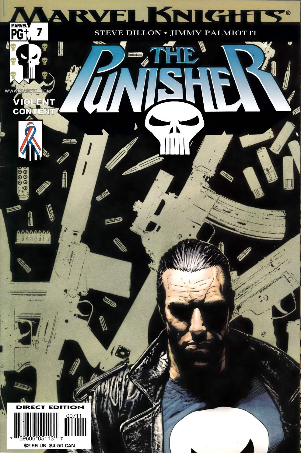 Punisher #7 Very Fine (8.0) [Marvel Comic] LARGE