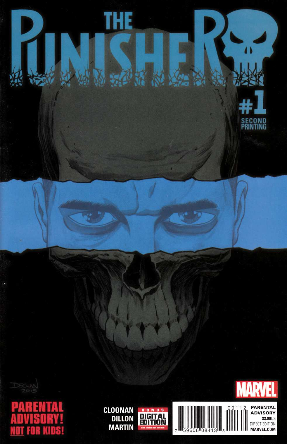Punisher #1 Second Printing [Marvel Comic] THUMBNAIL