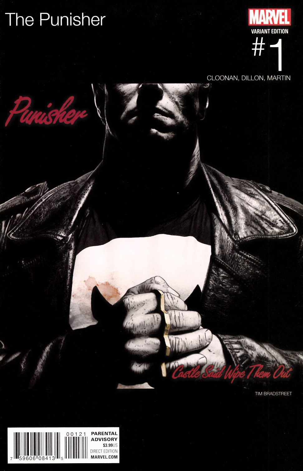Punisher #1 Bradstreet Hip Hop Variant Cover Near Mint (9.4) [Marvel Comic] THUMBNAIL