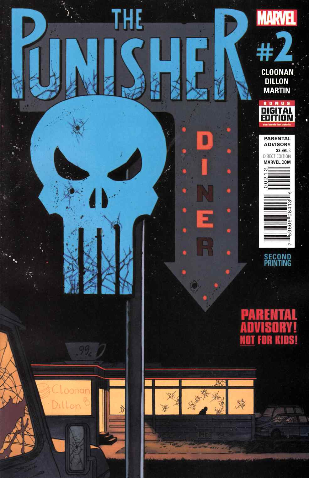 Punisher #2 Second Printing [Marvel Comic] THUMBNAIL