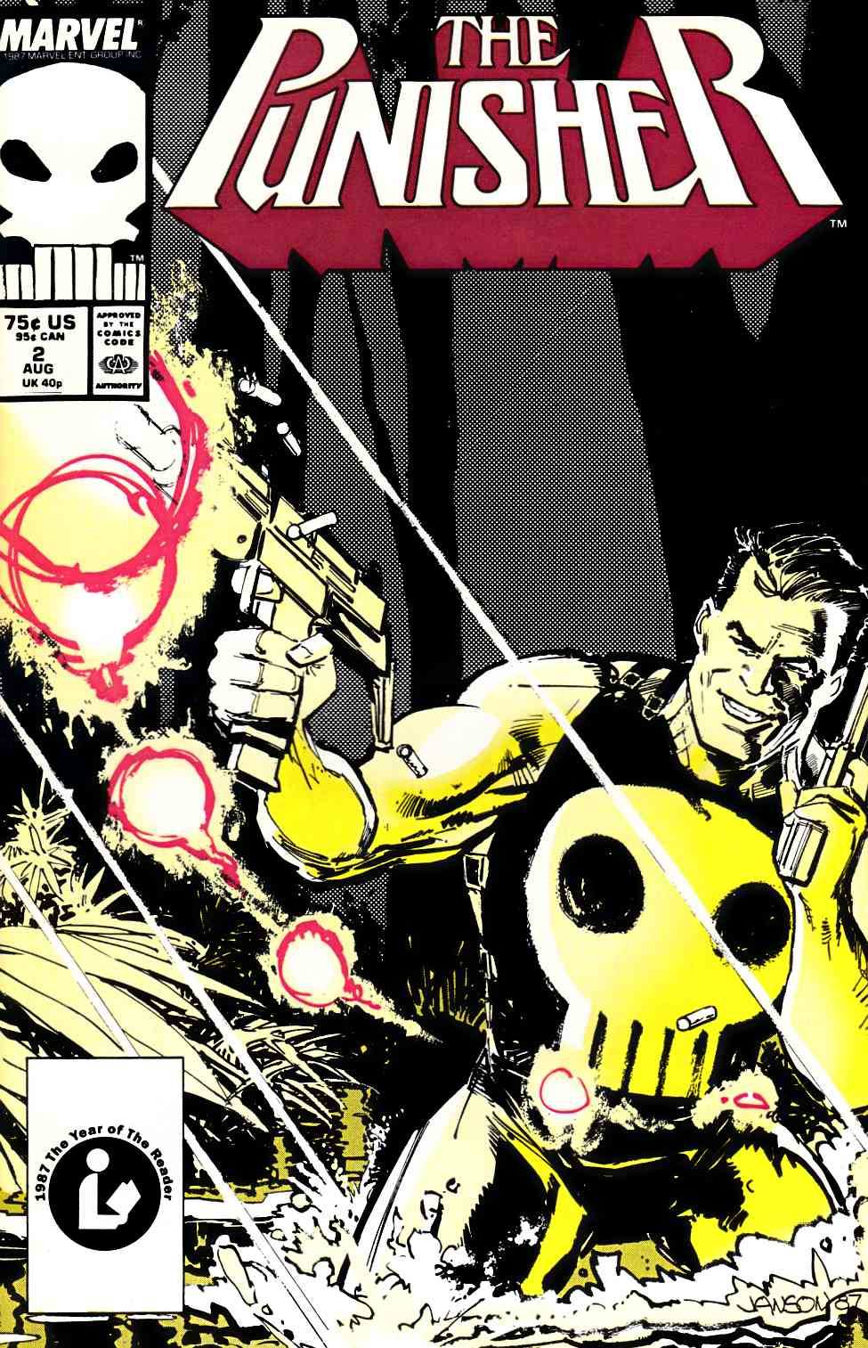 Punisher #2 Near Mint Minus (9.2) [Marvel Comic] THUMBNAIL