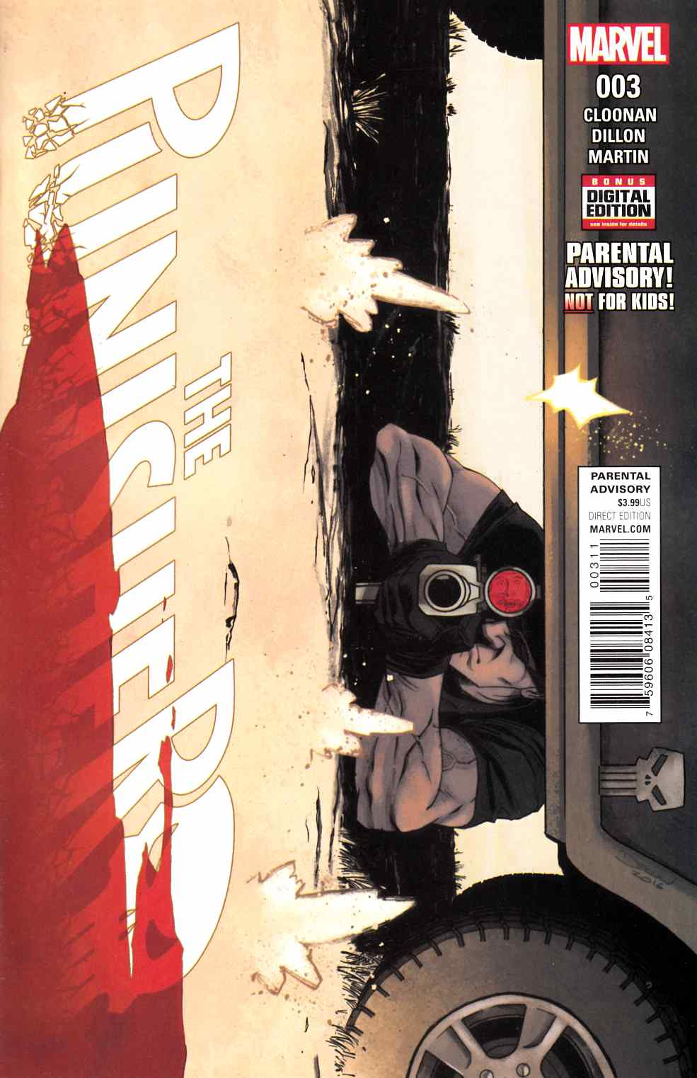 Punisher #3 [Marvel Comic] LARGE
