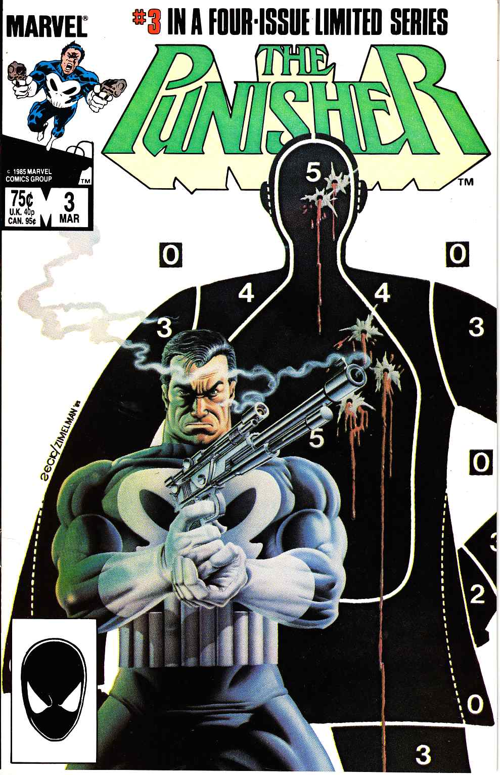 Punisher #3 Near Mint (9.4) [Marvel Comic] LARGE