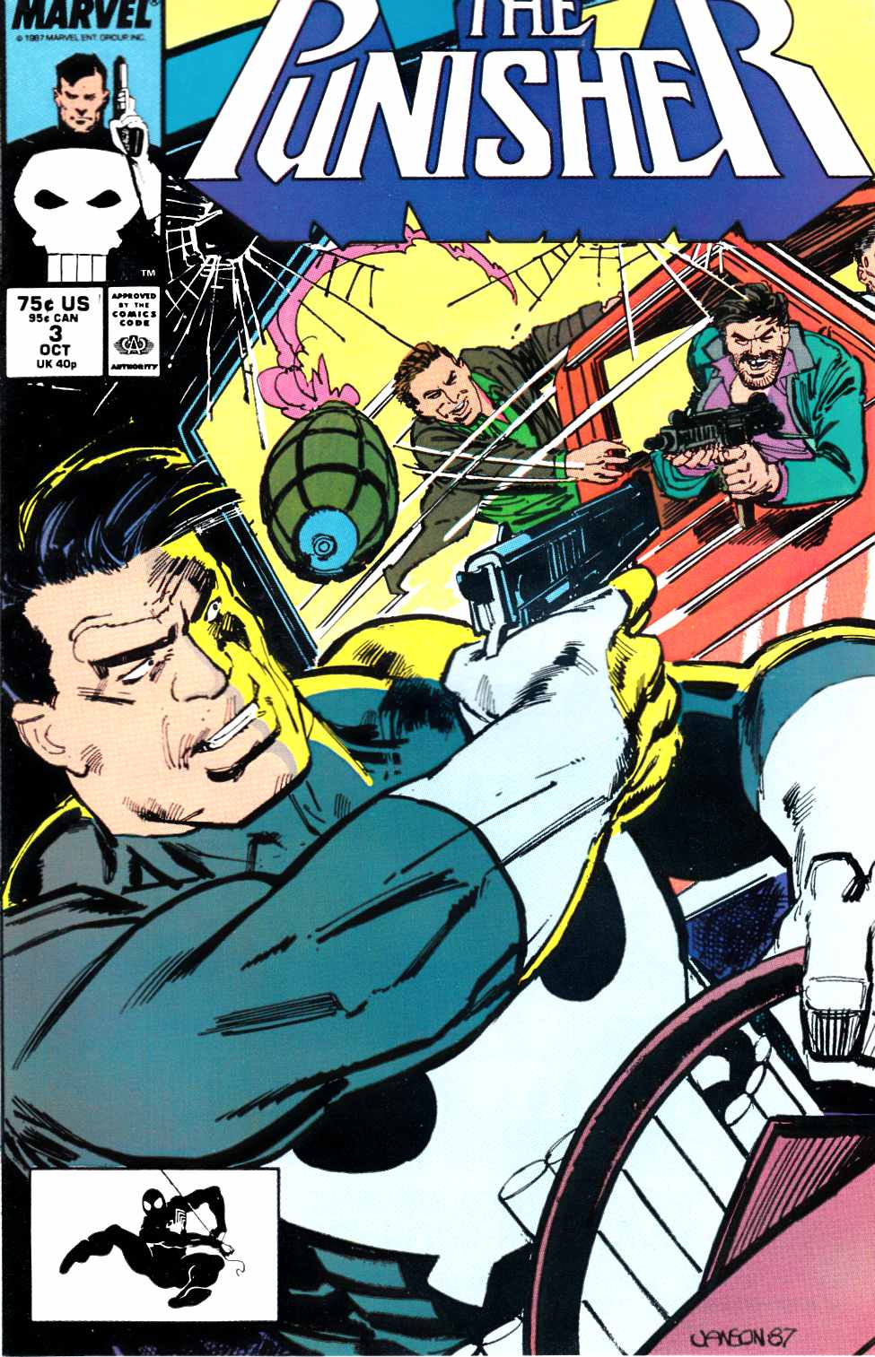 Punisher #3 Near Mint (9.4) [Marvel Comic] THUMBNAIL