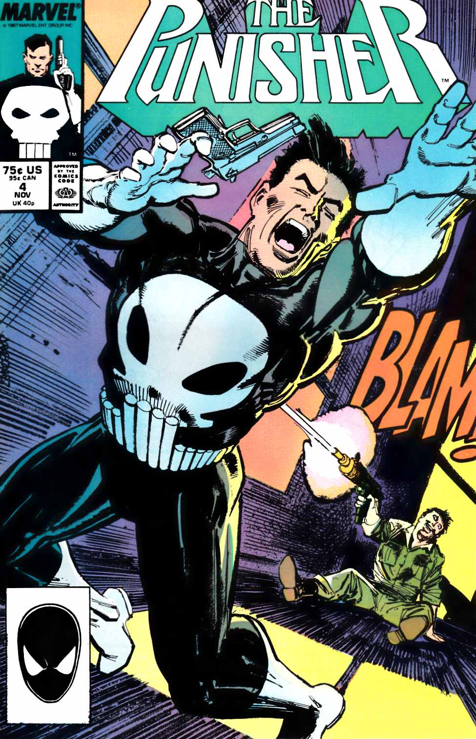 Punisher #4 Near Mint (9.4) [Marvel Comic] THUMBNAIL
