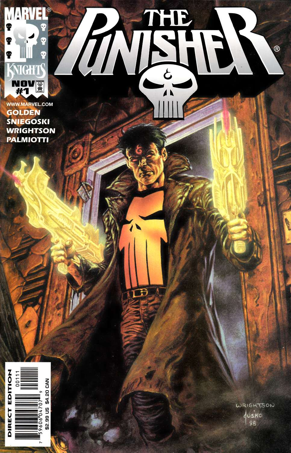 Punisher #1 Very Fine Plus (8.5) [Marvel Comic] THUMBNAIL
