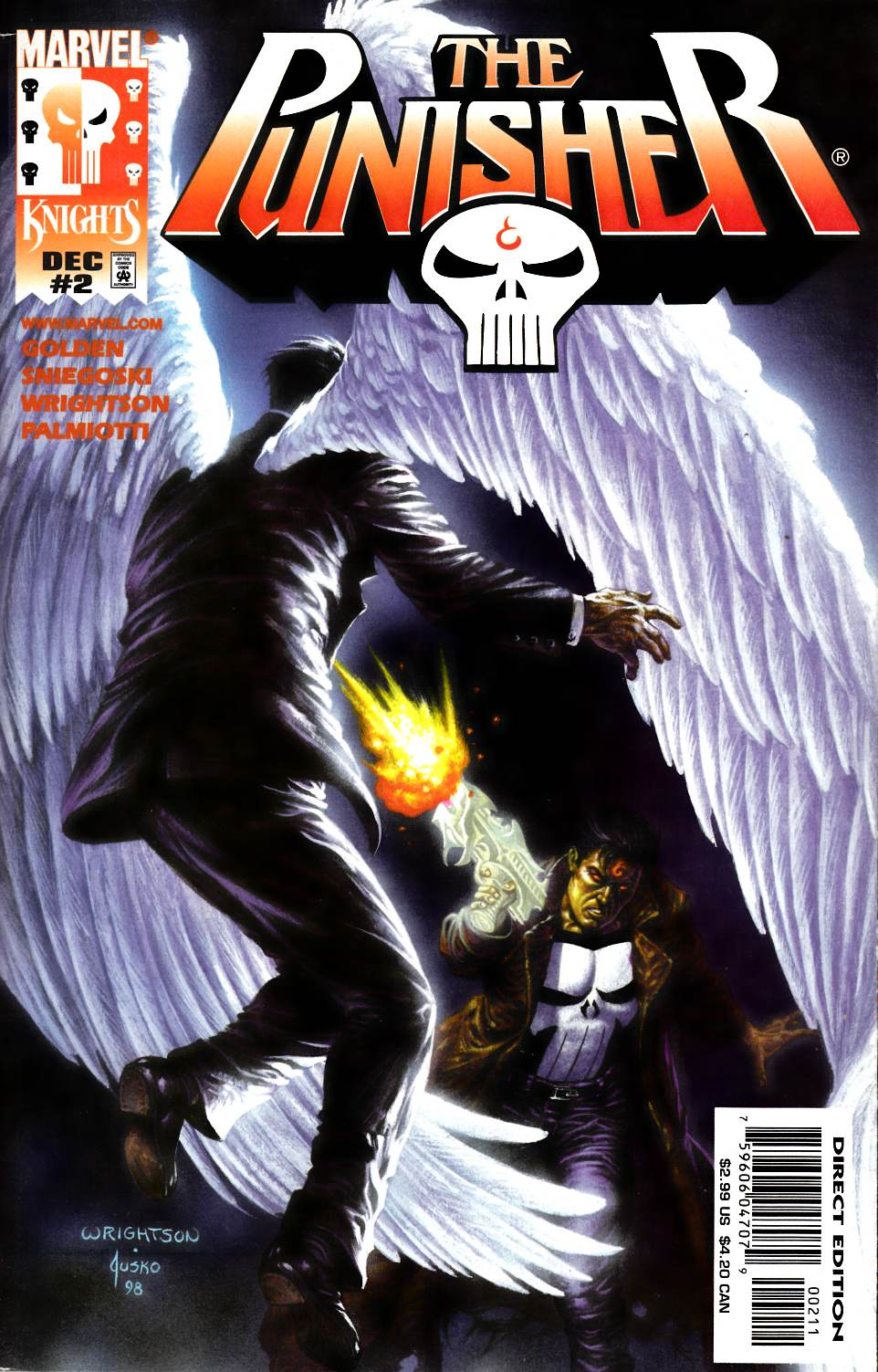 Punisher #2 Fine (6.0) [Marvel Comic] LARGE