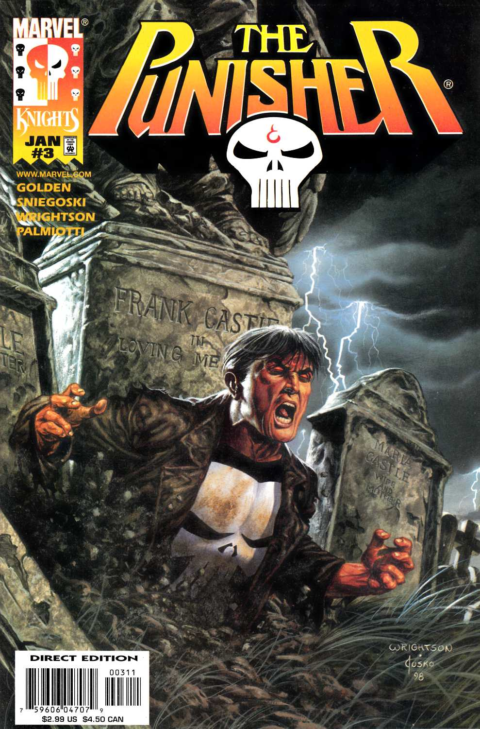 Punisher #3 Very Fine (8.0) [Marvel Comic] THUMBNAIL